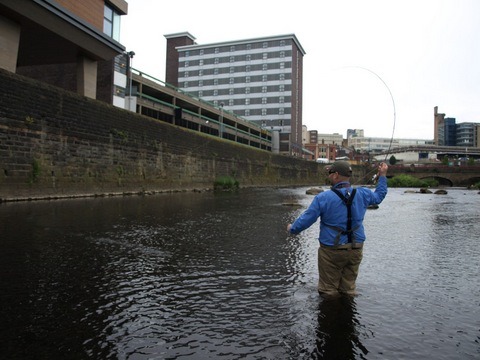 Sheffield fishing - River Beat