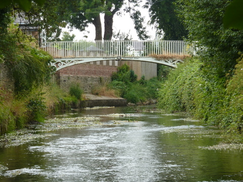 Leominster footbridge