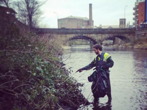 River Don cleanup Jan 2015 - River Stewardship Company