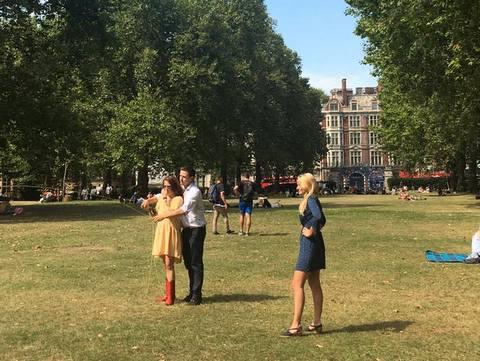 Casting in Green Park - Claire Zambuni