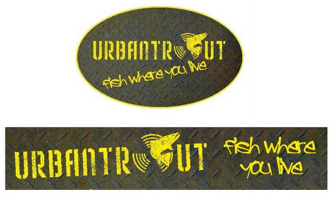 Urbantrout window stickers