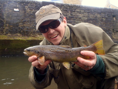 Rich with Saddleworth trout