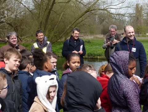 Trout in the Classroom 2013 - with George Monbiot