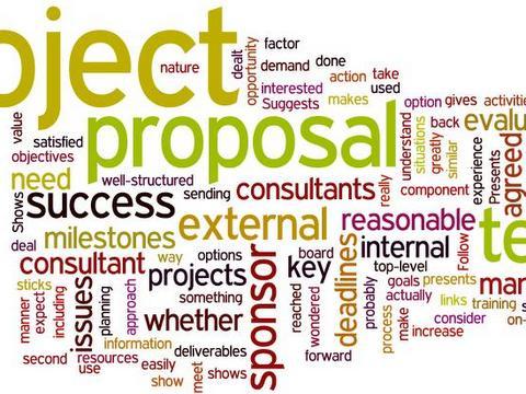 Project proposal wordcloud - Lera