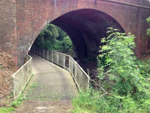 Rea Brook arch - Spencer Clayton