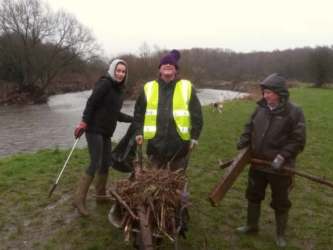 Springwater Park cleanup - Prestwich Whitefield Guide